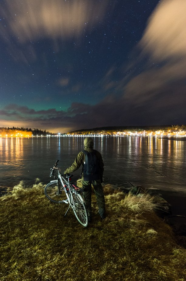 Aurora borealis hunting by Valonkuvaaja - Image Of The Month Photo Contest Vol 42