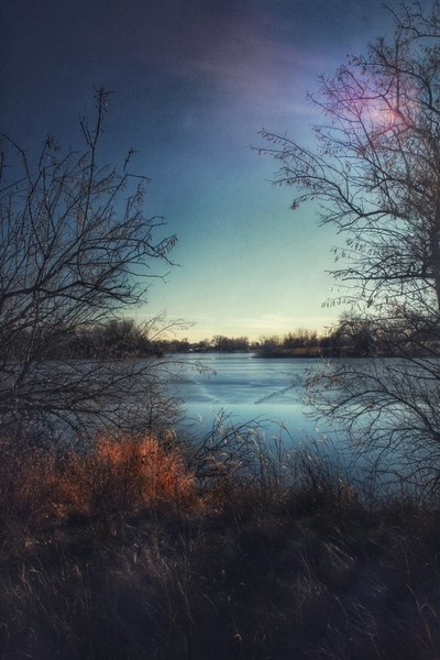 Dreamy river view