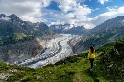 Aletsch Arena Glacier