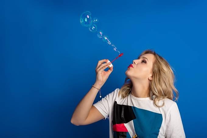 Mirjam by jensfischer - Capture Bubbles Photo Contest