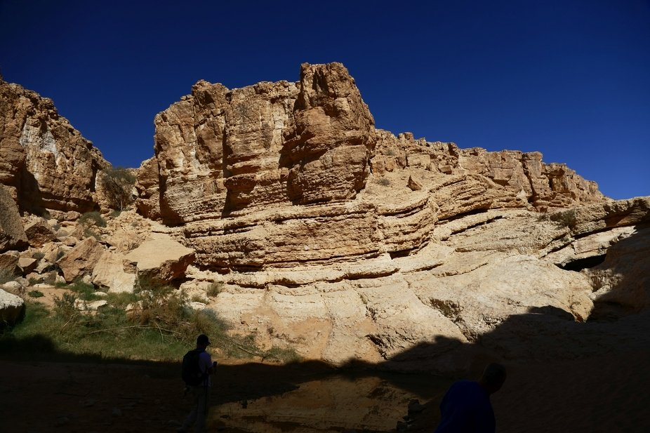 The beauty of the Negev area of Israel. Photographed during trekking the Israeli Trail