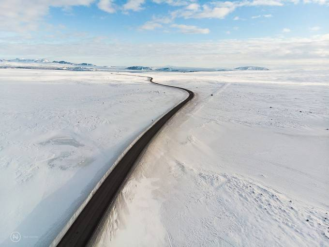 Iceland Road by ventenni - Winter Roads Photo Contest