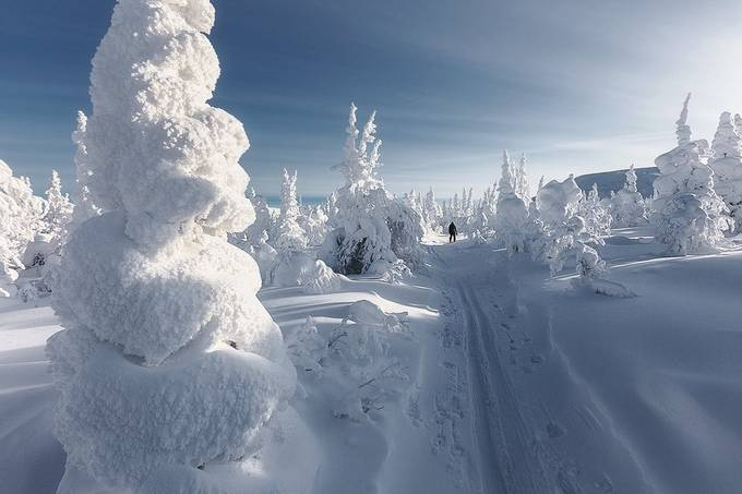 Snow valey by sgarifullin - We Love The Winter Photo Contest