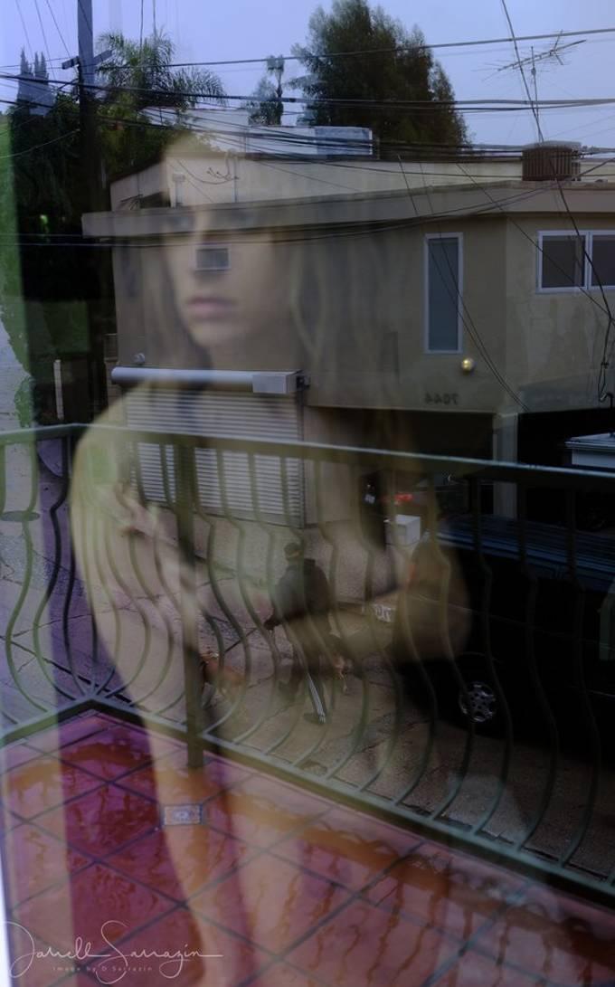 `raining day shoot with Lonna Madsen