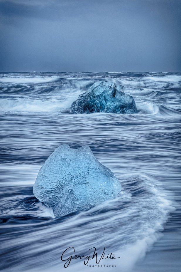 Blue ice by gesser - Social Exposure Photo Contest Vol 21