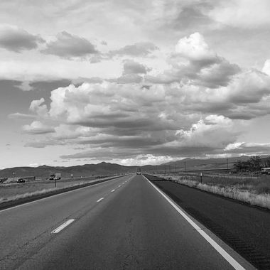 IMG_0510_Straight ahead under cloudy skies_B&W