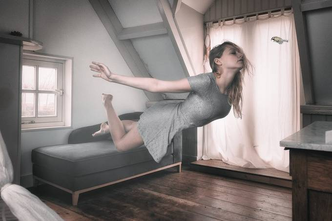 Look how it's done! by RuudMooi - Levitation Art Photo Contest