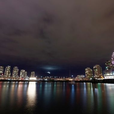 Science World at Night