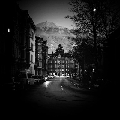 Innsbruck at dusk