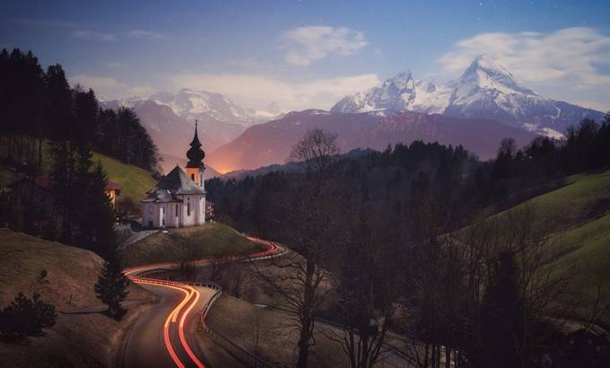 Mountain Road by robinkphotography - Image Of The Month Photo Contest Vol 42