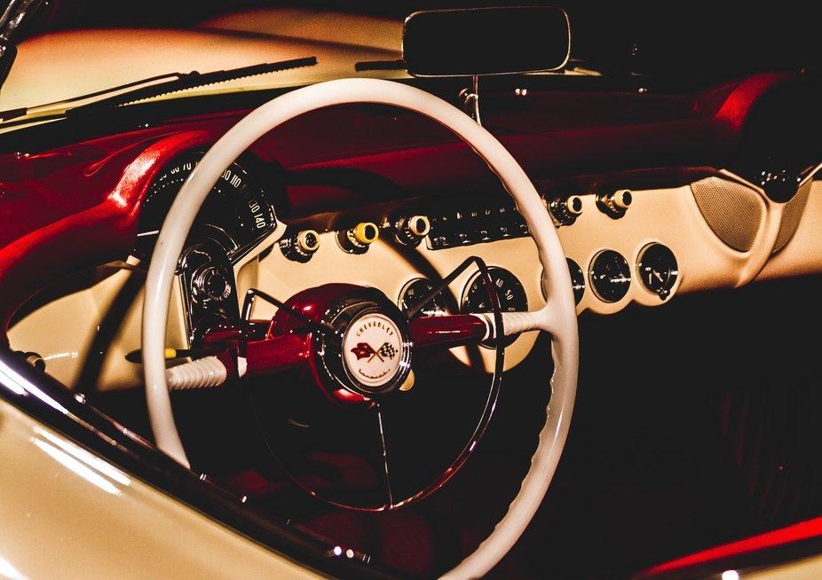 Barrett-Jackson Corvette