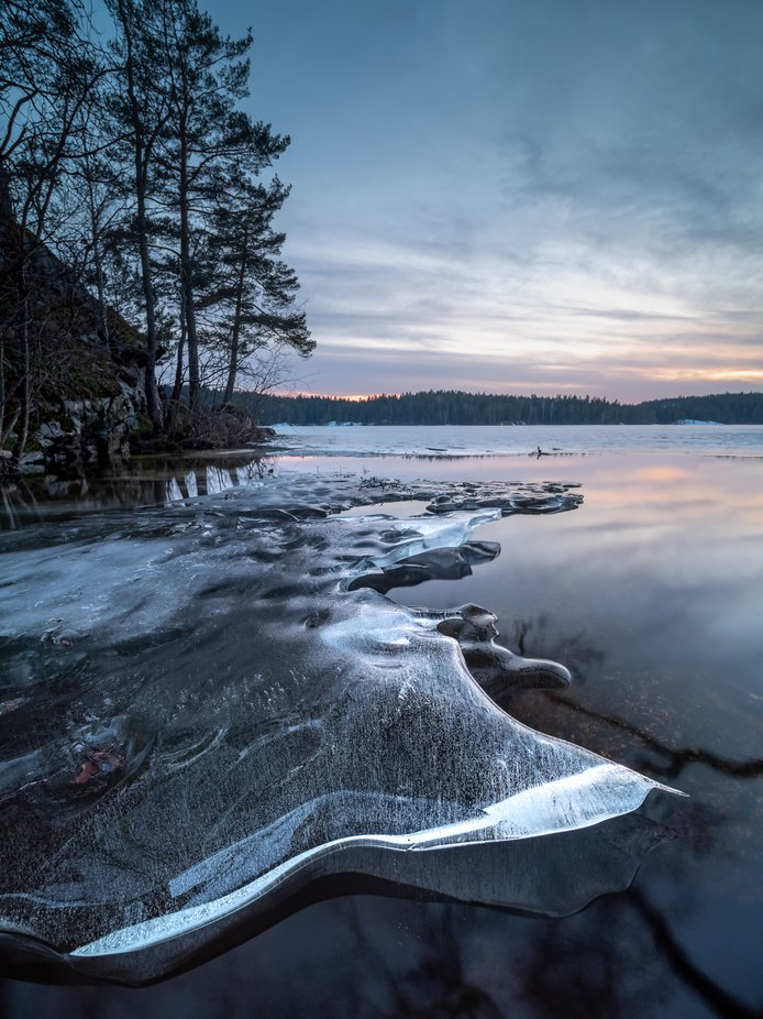 Melting away by jgnu - We Love The Winter Photo Contest