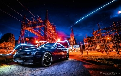 V12 Mercedes CL600 Late Night