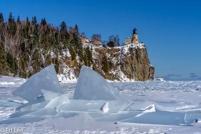 Ice Sharks on Lake Superior