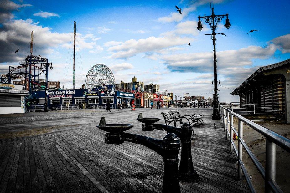 Coney Island, Brooklyn. New York #canoneos80D