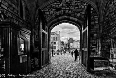 Windsor Castle exit