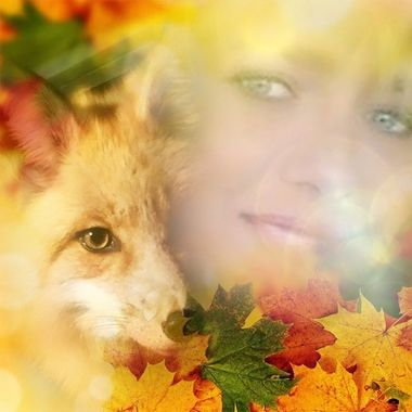 Me and Foxy. I do just adore her:-)