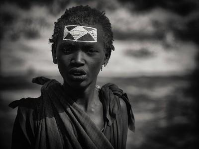 Masai tribe boy