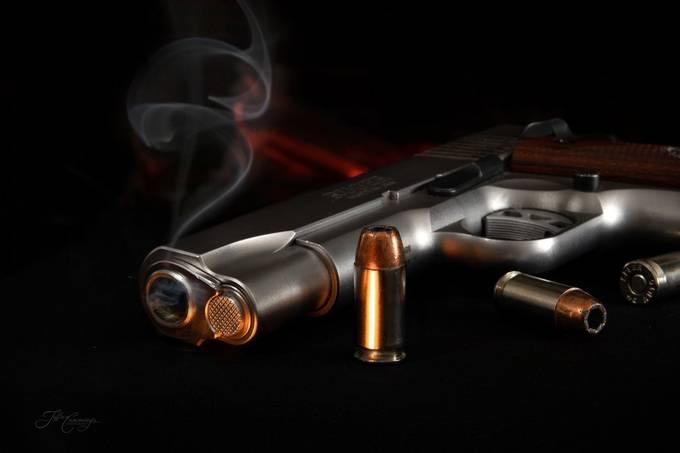 Smoking Gun by k-tizo - Colorful Macro Photo Contest