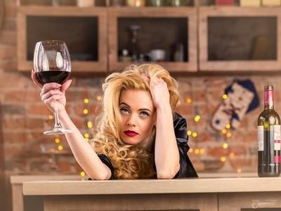 Sometimes Wine is the best Medicine