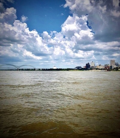 Boating On The Mississippi River