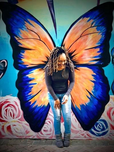My Butterfly Friend ;-)