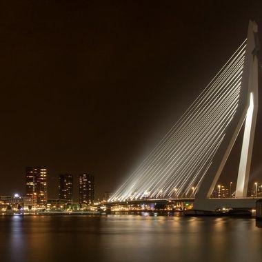 Erasmus bridge, Rotterdam, Holland