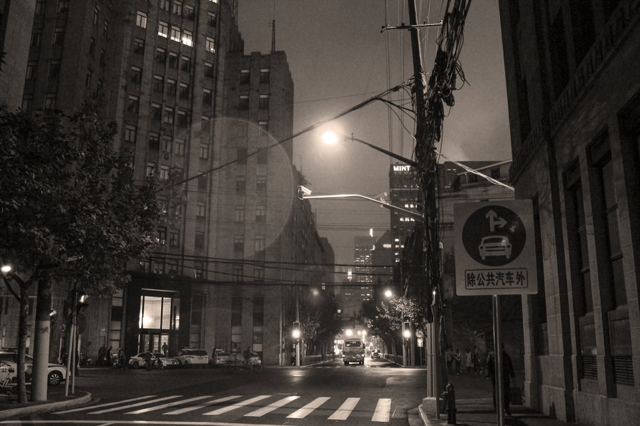 I can't wait to go back to Shanghai! Another take on an evening walkabout on an &quo...