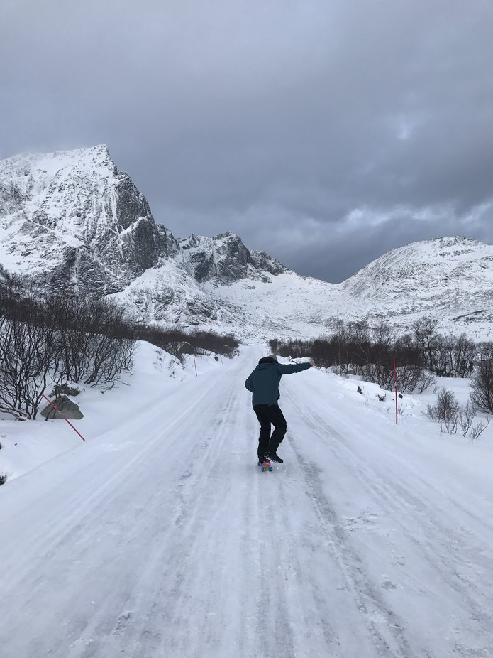 During my trip to Norway