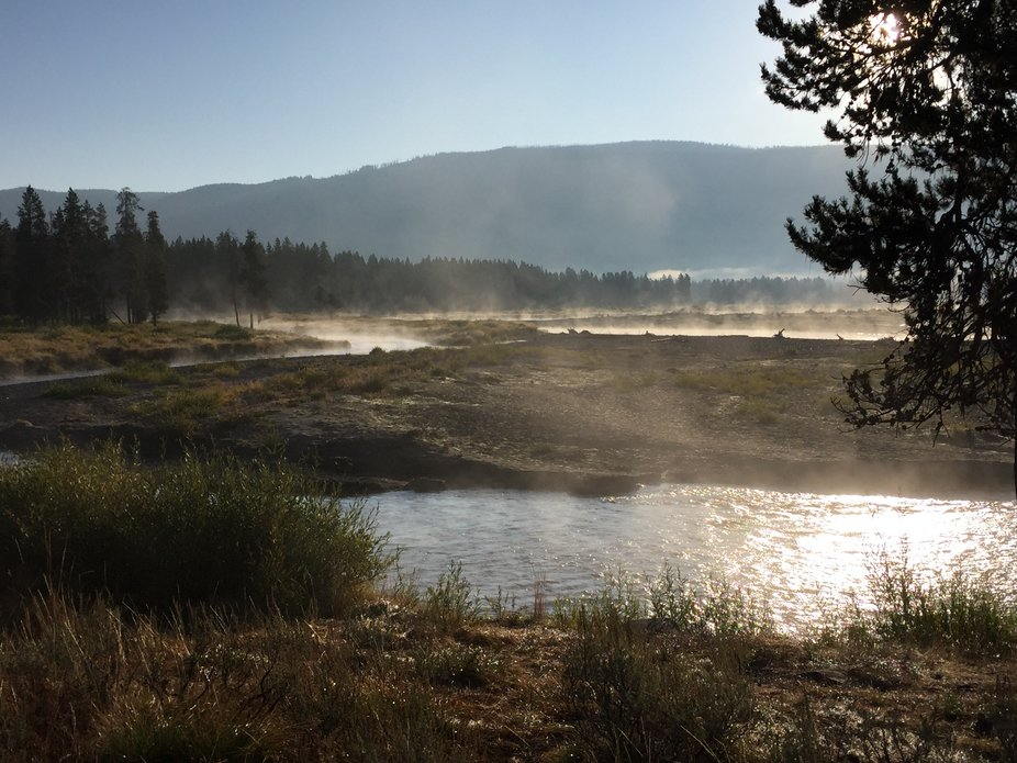 Steam on the Snake River
