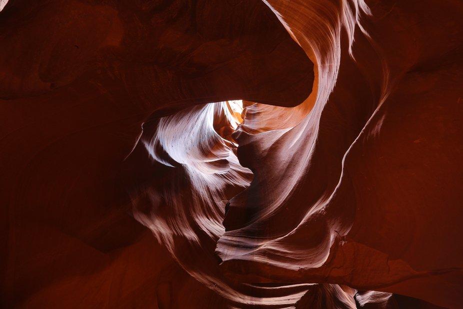 Taken in Antelope Canyon, Page AZ