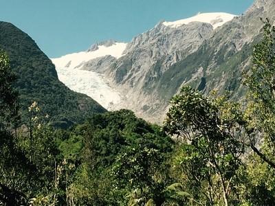 Whataroa glacier