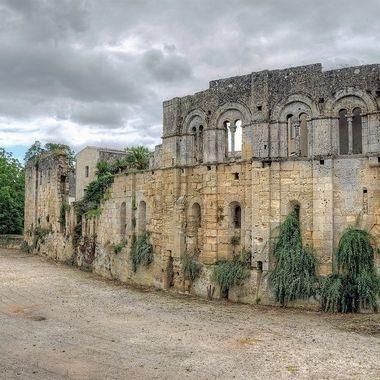 Ruins of Beautiful St Emilion,  France