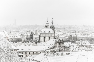 Snow Covered Capital
