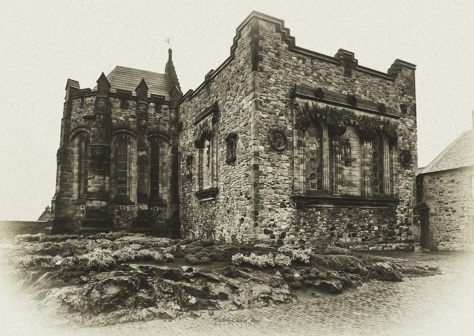 St. Margaret's Chapel at Edinburgh Castle