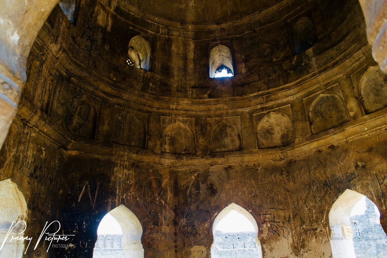 Ancient Architecture This Image I shot in Anchaleshwar Temple  at Chandrapur!
