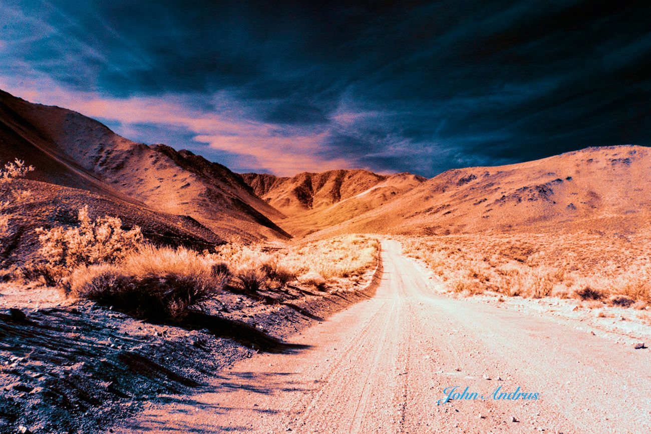 Taken in infrared using a Sony A6000 full spectrum converted camera. Shot in the morning an hour after sunrise.