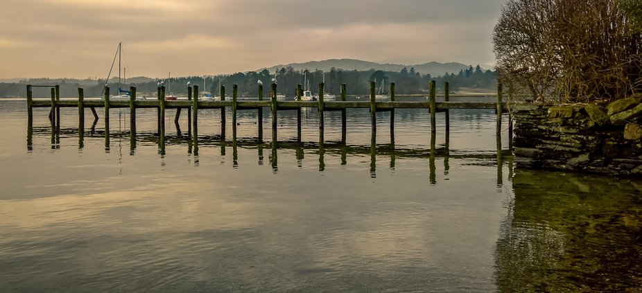 Peaceful morning at Bowness