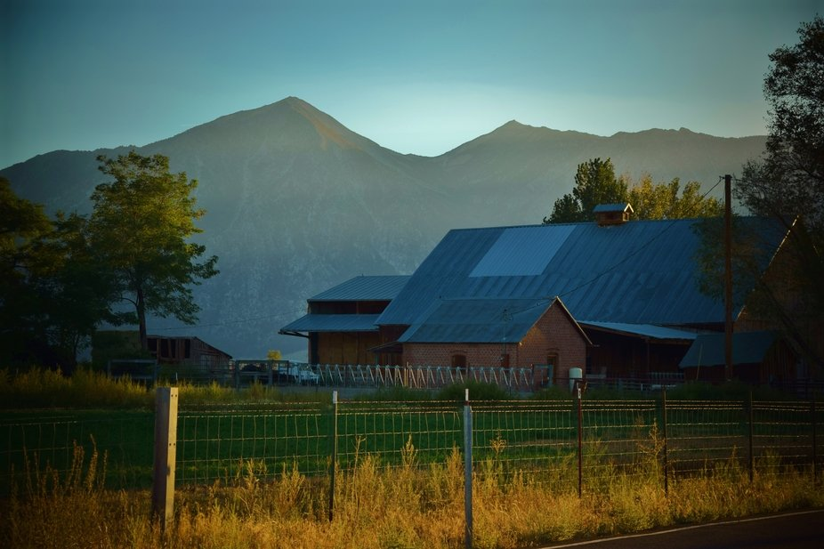 This photo was taken in the late summer in a small town called Gardnerville, Nevada just east of ...