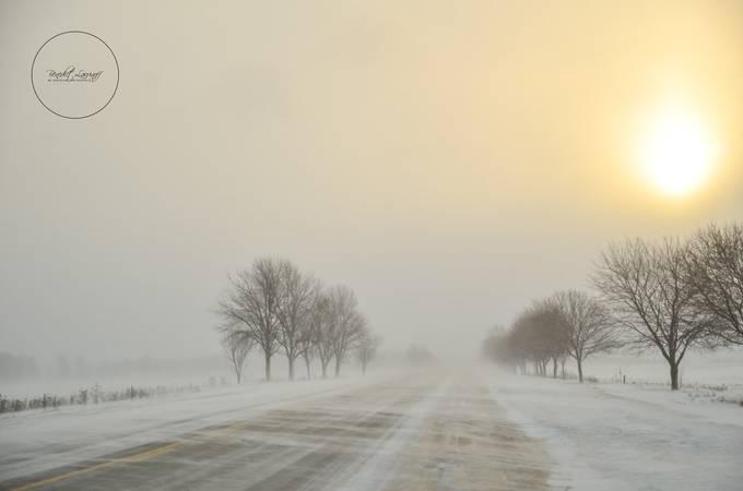 Maelstrom by benlavrinoff - Winter Roads Photo Contest