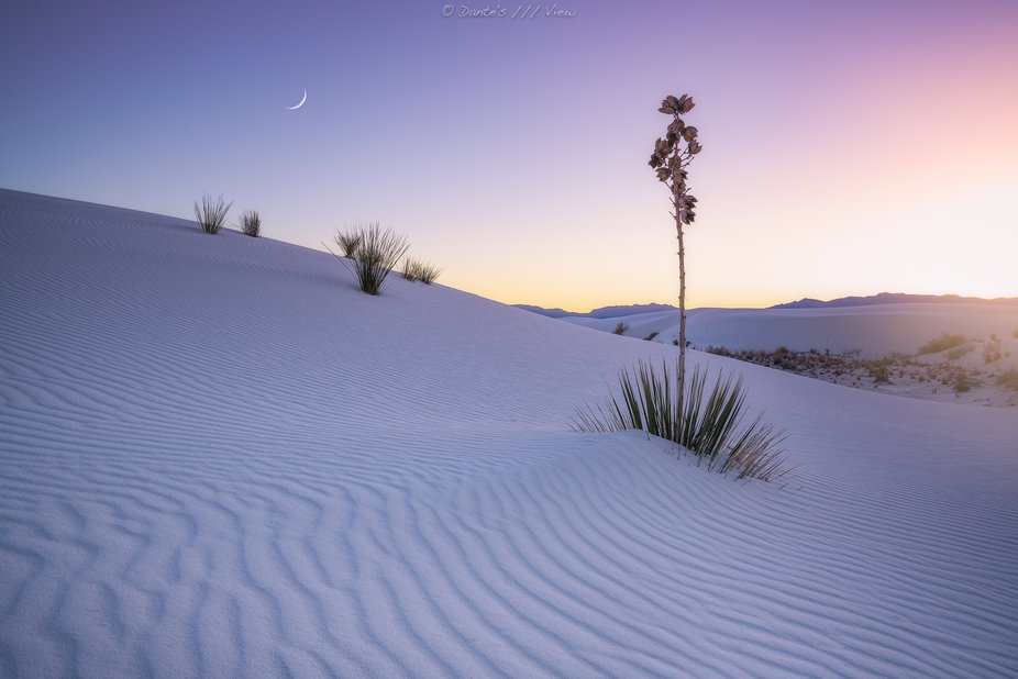 The White Sand National Monument in New Mexico is really exceptional! Square miles of untouched s...