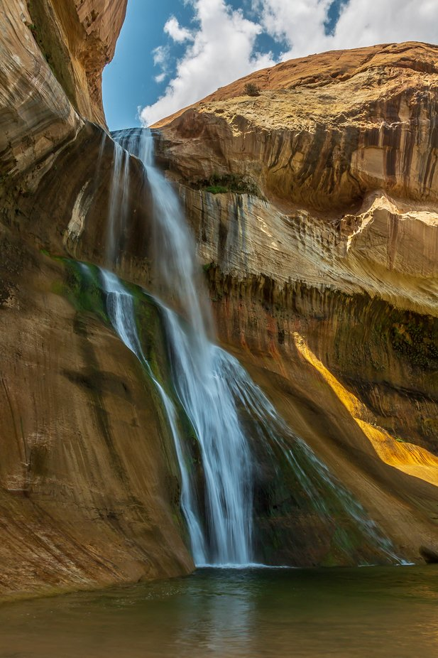 Calf Creek Falls by patrick9x9 - Monthly Pro Photo Contest Vol 48