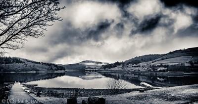 Stormy Sky over Ladybower Reservoir