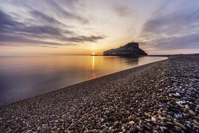 Sunset time a Praia a Mare