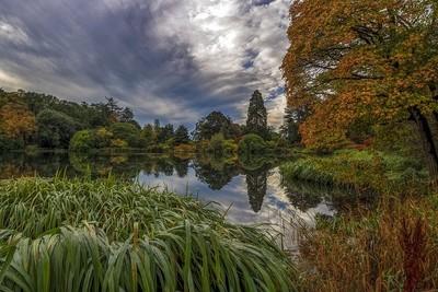 Mount Stewart Lake Reflection