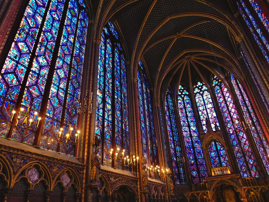 Sainte-Chapelle (Paris-Francia)