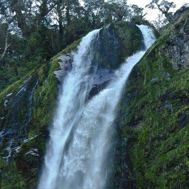 Bowen Falls Milford Sound N.Z.