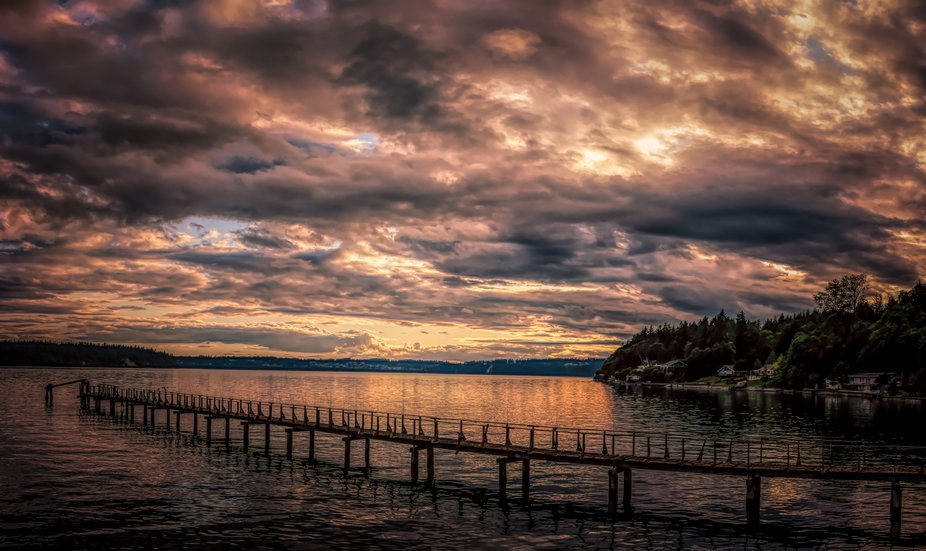 Shot this image while out on Vashon Island in Washington State. Beautiful little island with a sp...