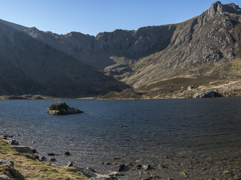 Llyn Idwal is a mountain lake in Snowdonia formed by glaciation and a place of special scientific...