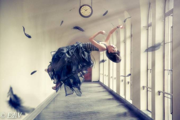 Lost in Time by EdiV_Photography - Levitation Art Photo Contest
